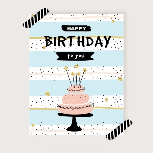 custom printed birthday cards